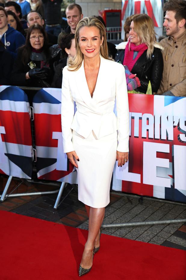 Britain's Got Talent auditions, Birmingham - Amanda Holden 2.2.2014