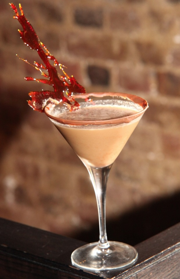 Dangerously divine chocolate cocktail