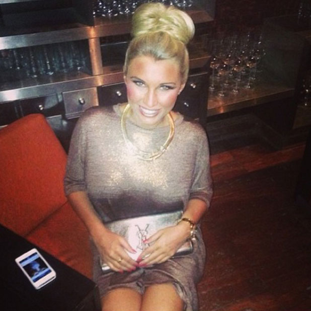 Billie Faiers on holiday in the Maldives, January - February 2014