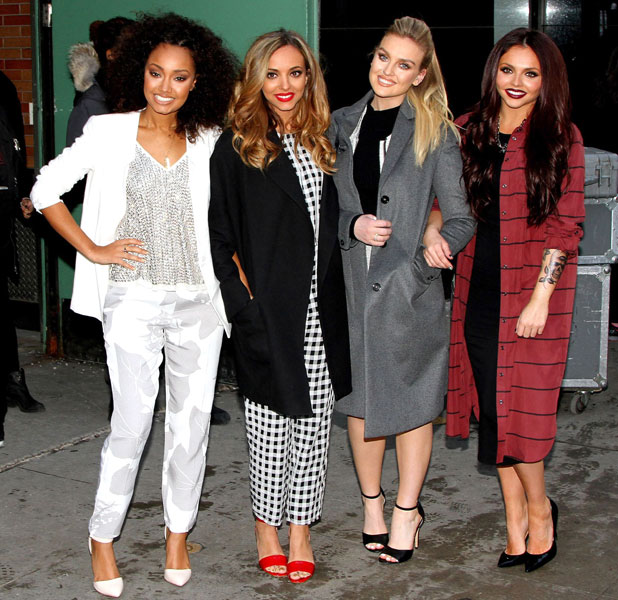 Little Mix appear on 'Good Morning America' TV show, New York, America - 04 Feb 2014