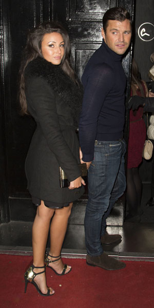 Michelle Keegan, 9 Swallow Street launch party - Outside Arrivals, 22 November 2013