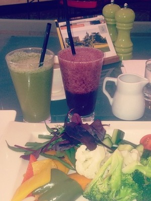 Helen Flanagan healthy food on instagram