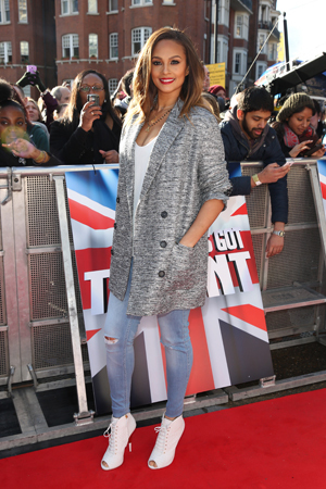 Britain's Got Talent London auditions held at Hammersmith Apollo - 11.2.2014 Alesha Dixon