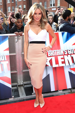 Britain's Got Talent London auditions held at Hammersmith Apollo - 11.2.2014 Amanda Holden