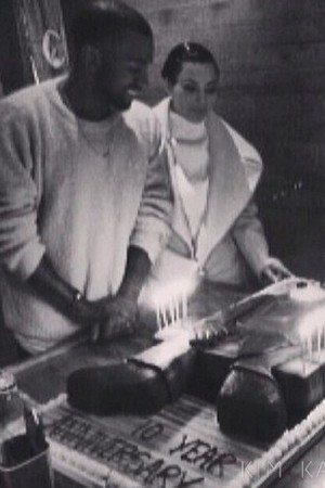 Kim Kardashian and Kanye West celebrate 10th anniversary of The College Dropout - 10.2.2014