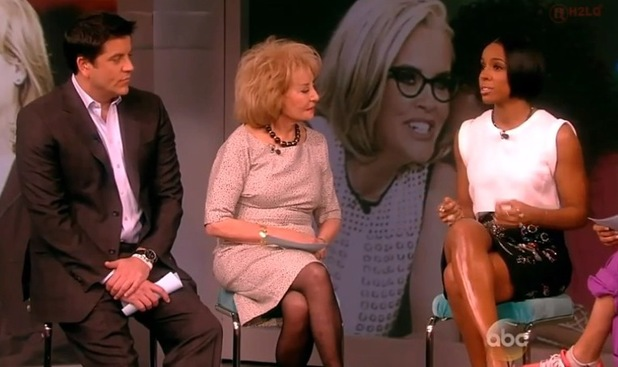 Kelly Rowland on The View - 11.2.2014