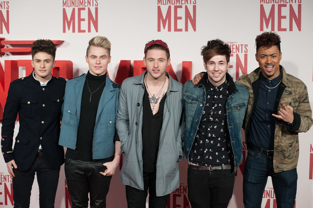 Monuments Men UK film premiere held at the Odeon Leicester Square, London - 11.2.2014 Kingsland Road