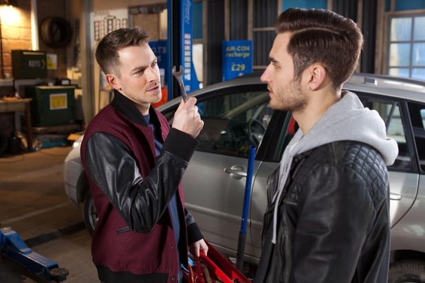 Hollyoaks, Freddie's angry with Darren, Mon 17 Feb