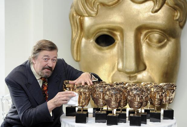 BAFTAS, Stephen Fry, Sun 16 Feb