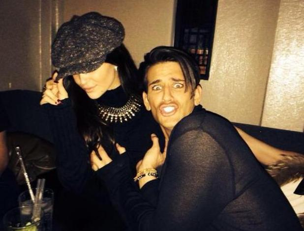 Former Made In Chelsea star Ollie Locke parties with Celebrity Big Brother star Casey Batchelor (13 February).