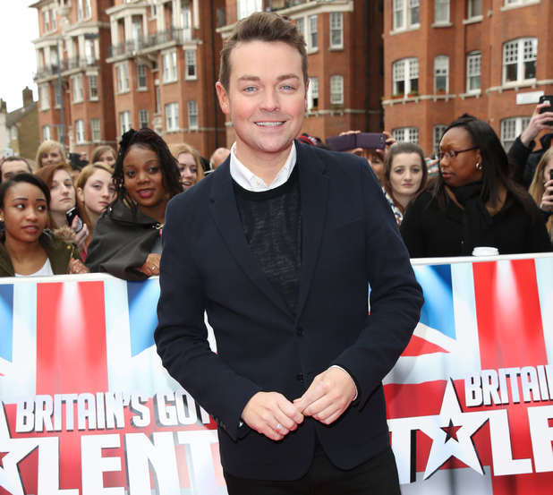 Stephen Mulhern at Britain's Got Talent auditions held at Hammersmith Apollo - Arrivals 02/11/2014