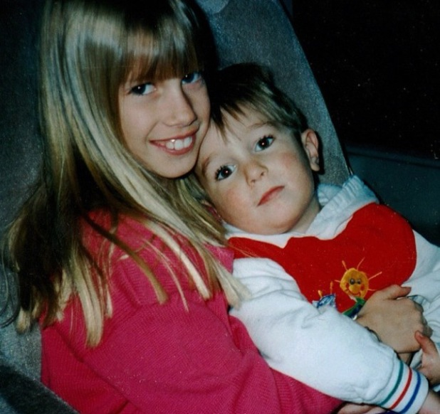 Heidi Montag posts childhood pictures with her younger brother Sky - 10.2.2014