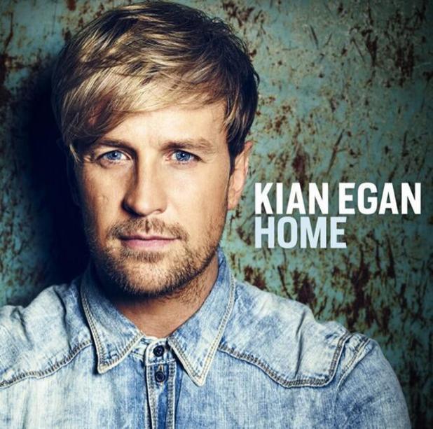 Kian Egan shares album cover artwork - 12 Feb 2014