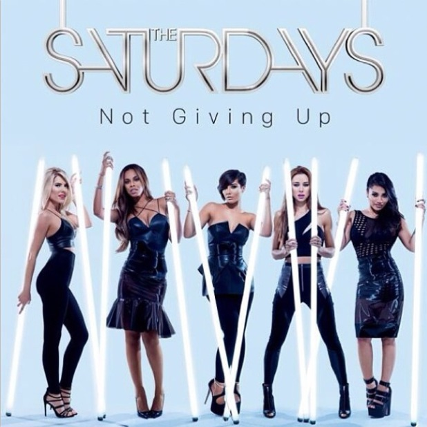 The Saturdays' Not Giving Up cover - 13 Feb 2014