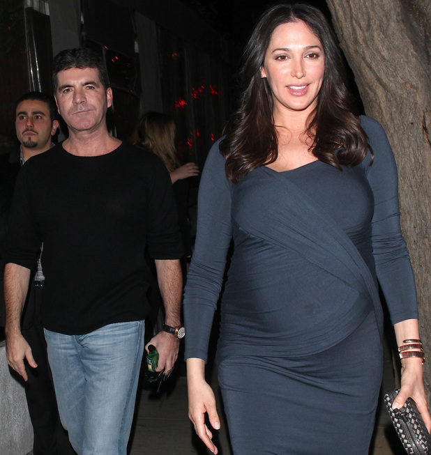 Simon Cowell and Lauren Silverman arrive at Sur restaurant to have dinner together 12/15/2013