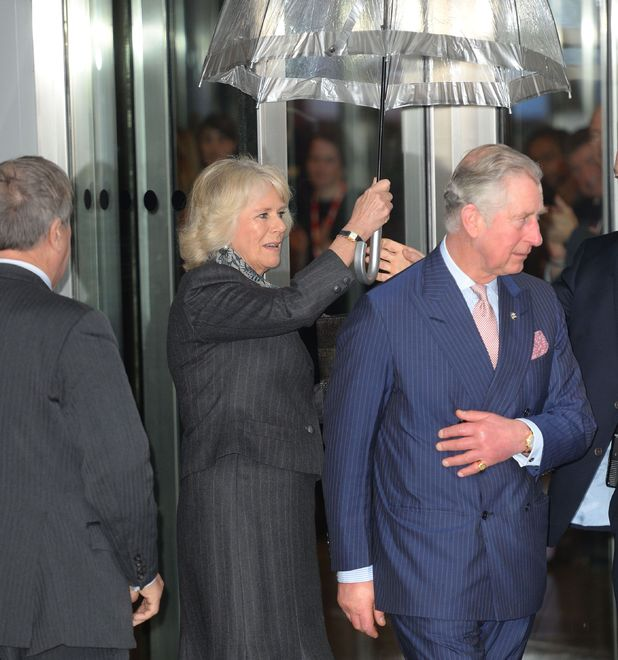Prince Charles and Camilla Duchess of Cornwall visit to BBC Broadcasting House, Portland Place, London, Britain - 11 Feb 2014