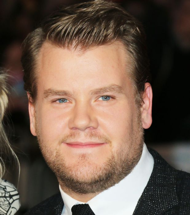 James Corden, women prefer cuddly frames