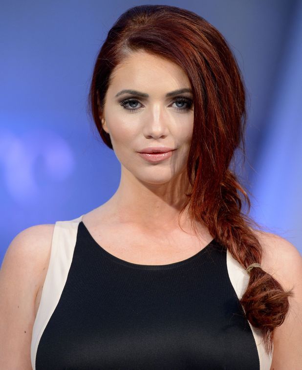 Amy Childs, Pure London Fashion Trade show, Olympia, London, Britain - 10 Feb 2014