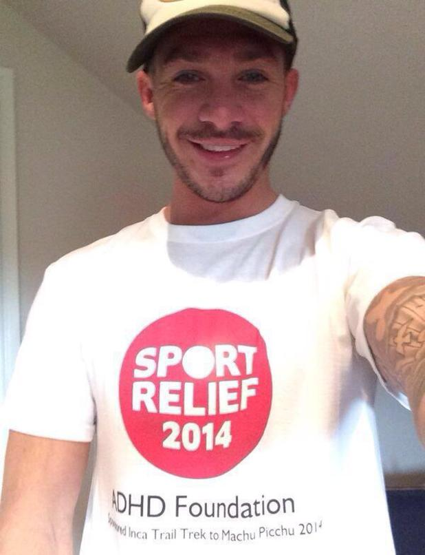 Kirk Norcross is gearing up to climb Macchu Picchu in Peru next month in aid of this year's Sport Relief campaign. (9 February).