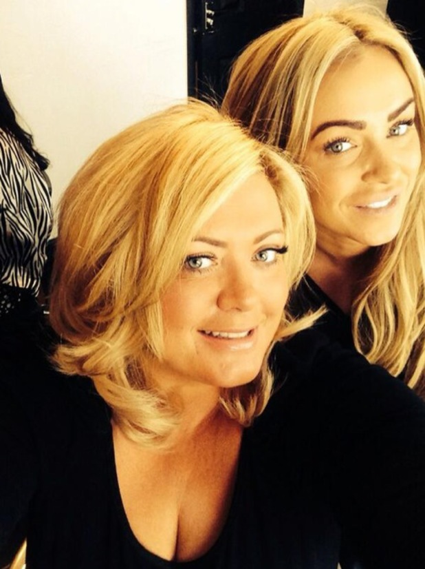 TOWIE's Gemma Collins shows off her new bob haircut - 11 February 2014