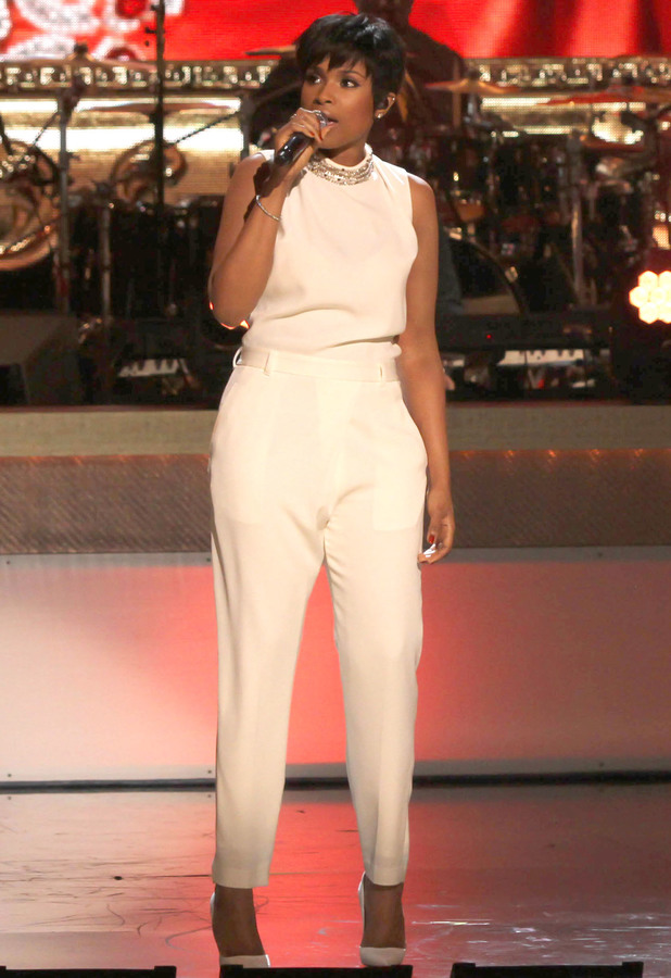 Jennifer Hudson performs at the BET Honors 2014 in Washington D.C., America - 8 February 2014