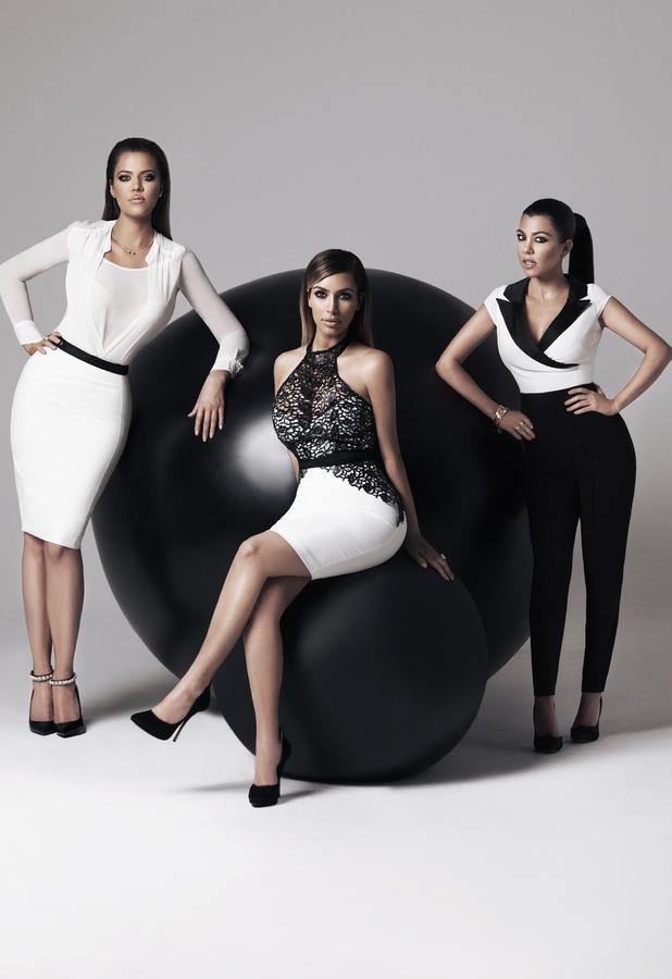 kardashian sisters unveil kardashian kollection for lipsy