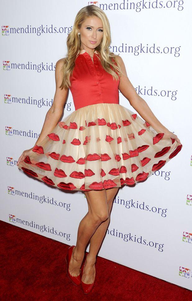 Paris Hilton: best looks of 2014