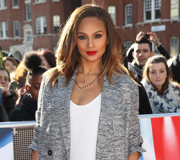 Alesha Dixon - Britain's Got Talent London auditions held at Hammersmith Apollo - Arrivals 02/11/2014