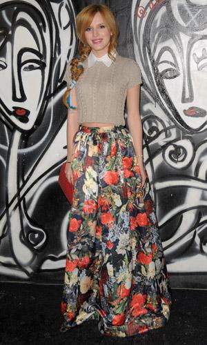 Bella Thorne at Alice & Olivia presentation on 10 February 2014