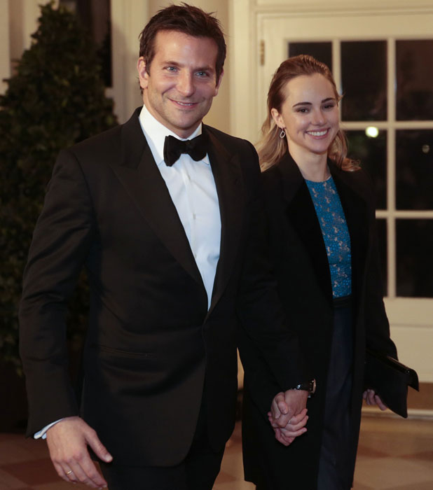 Bradley Cooper and Suki Waterhouse, State dinner in honour of the French President at the White House, Washington DC, America - 11 Feb 2014