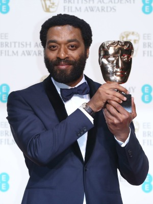 Chiwetel Ejiofor, EE British Academy Film Awards, Press Room, Royal Opera House, London, Britain - 16 Feb 2014