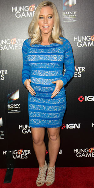Kendra Wilkinson, premiere of 'The Hungover Games' held at TCL Chinese 6 Theatres, 11 February 2014
