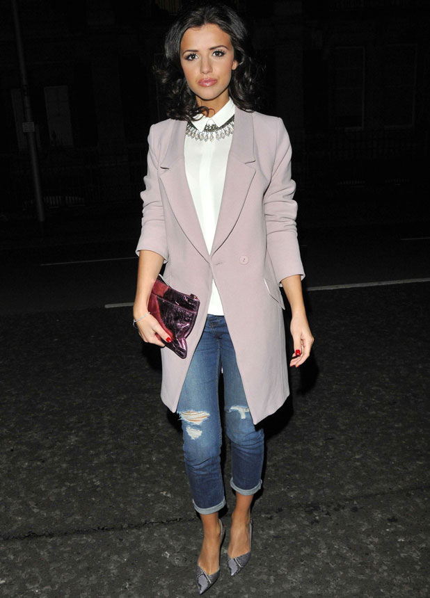 Lucy Mecklenburgh at the Petits Bisous Boutique party, 13 February 2014