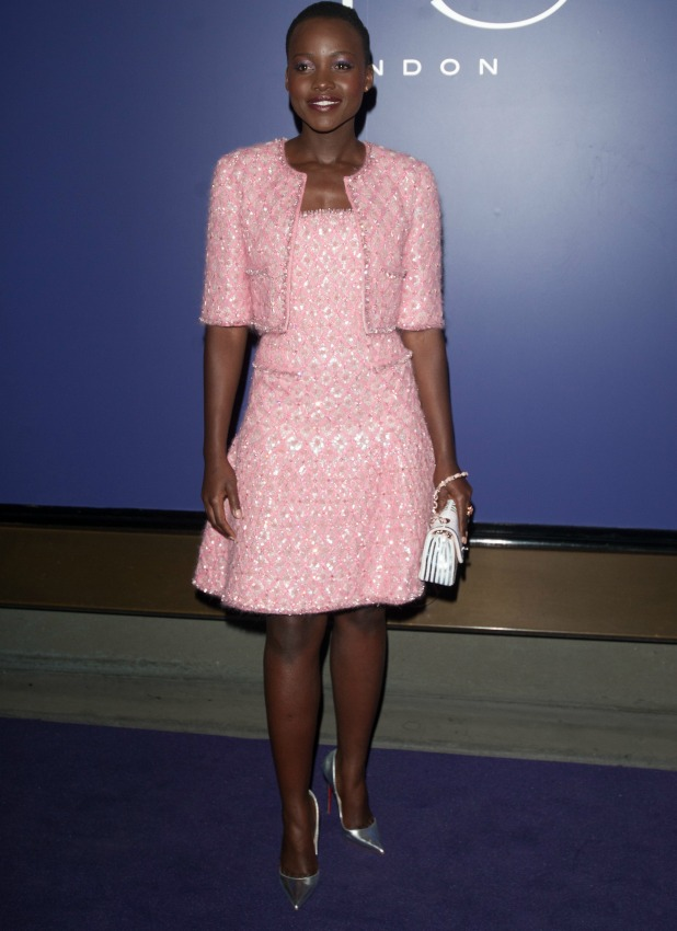 Lupita Nyong'o, EE British Academy Film Awards (BAFTAs) nominees party held at Aspreys - Arrivals, 15 February 2014