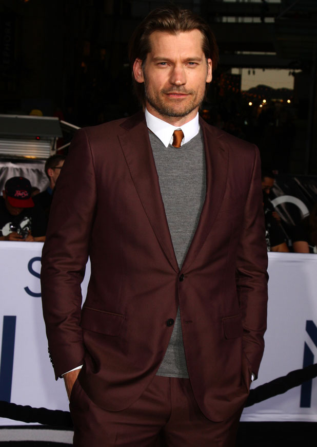 Nikolaj Coster-Waldau, Los Angeles premiere of 'Oblivion' at The Dolby Theatre, October 2013