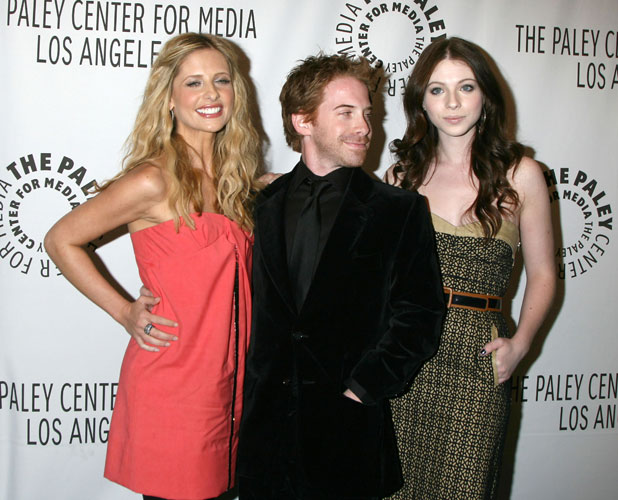 Sarah Michelle Gellar, Seth Green and Michelle Trachtenberg, 'Buffy the Vampire Slayer' reunion for the Paley Center for Media's 24th William S. Paley Television Festival held at the ArcLight Theater Los Angeles, California - 20.03.08