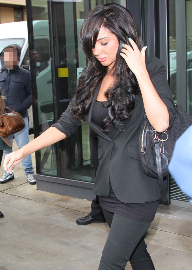 Tulisa at Chelmsford Magistrates' Court, Essex, 12 February 2014