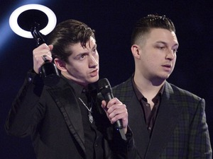 Arctic Monkeys, The Brit Awards, Show, O2 Arena, London, Britain - 19 Feb 2014