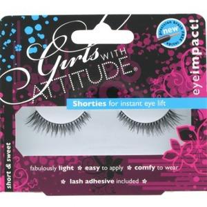 Girls With Attitude Short & Sweet False Eyelashes