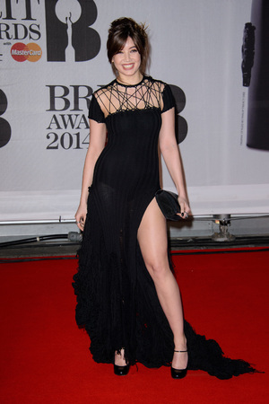 The Brit Awards, Arrivals, O2 Arena, London, Britain - 19 Feb 2014 Daisy Lowe
