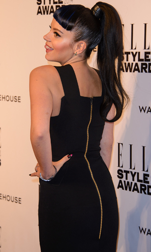 Lily Allen at Elle Style Awards, London, 18 Feb 2014