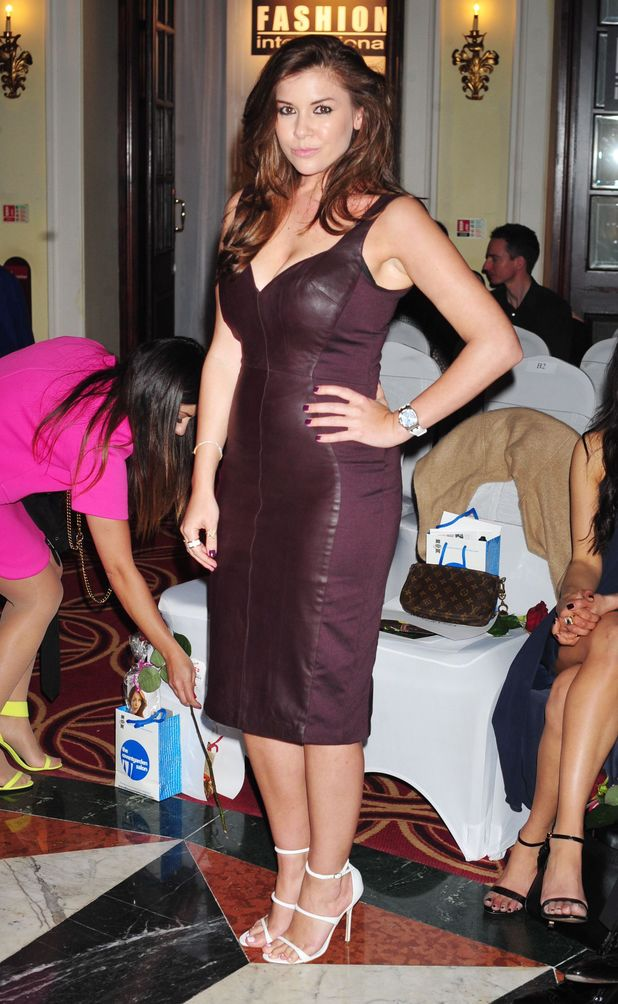 Fashion International show, Autumn Winter, London Fashion Week, Charing Cross Hotel, London, Britain - 15 Feb 2014 Imogen Thomas