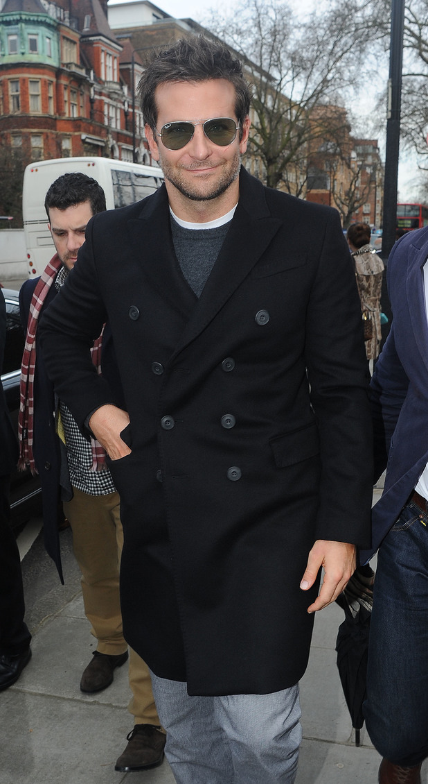 Bradley Cooper attends Burberry at LFW