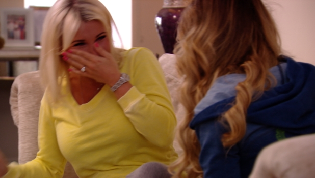 Billie Faiers cries with joy about pregnancy on TOWIE, Sunday 23 February