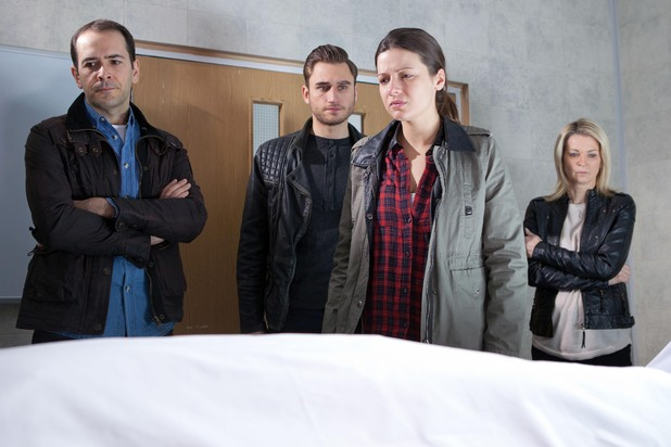 Hollyoaks, Lindsey identifies a body, Tue 18 Feb