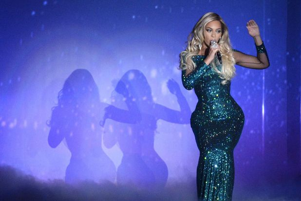 The Brit Awards, Show, O2 Arena, London, Britain - 19 Feb 2014 Beyonce Knowles