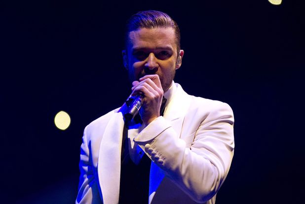 Justin Timberlake in concert at Rexall Place, Edmonton, Canada - 13 Jan 2014