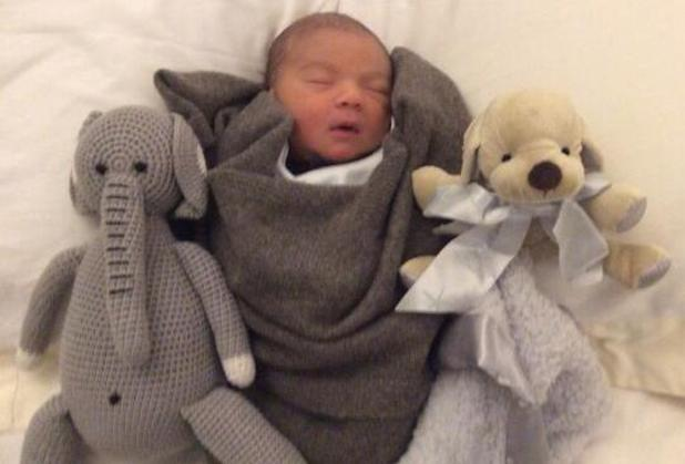 Simon Cowell shares new picture of Eric with his cuddly toys - 18 Feb 2014