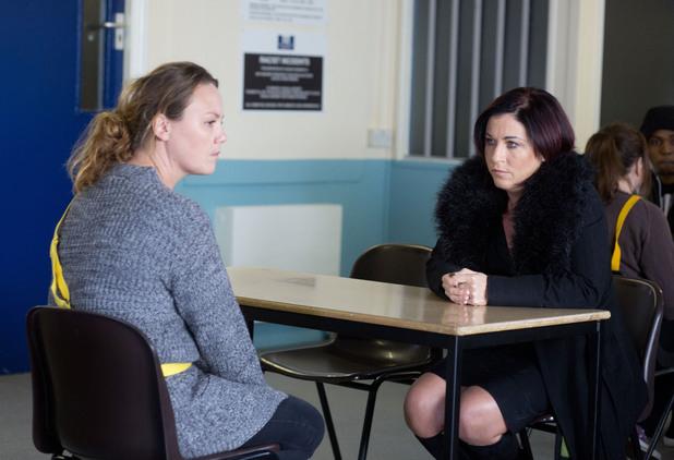 EastEnders, Kat visits Janine, Mon 24 Feb