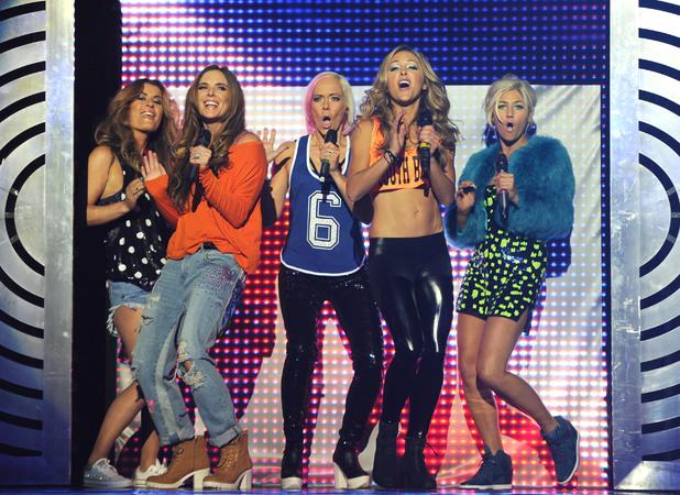 Girl Thing perform at Big Reunion Concert, Hammersmith Apollo, London - 21 Feb 2014